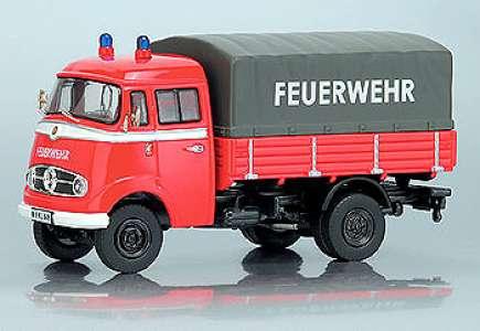 L319 Kastenwagen Pritsche Plane -Feuerwehr-
