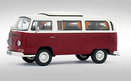 T2-a Kombi Camping- rot-weiß