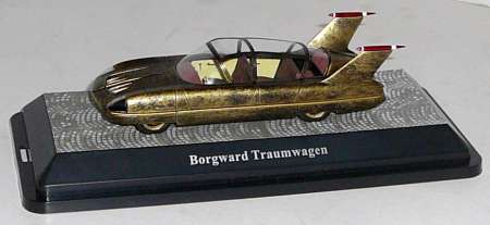 Traumwagen 1955 in gold-metallic