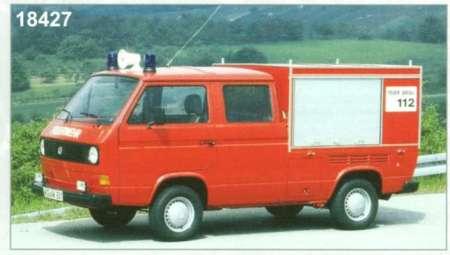 T3-a Doppelkabine Vorausgerätewagen 'Feuerwehr'