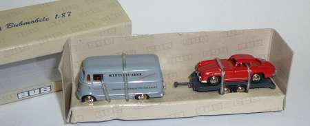 L319 Kasten mit Anhänger + Mercedes Benz 300SL -MB Service- (limitierte Auflage 1000 stück)