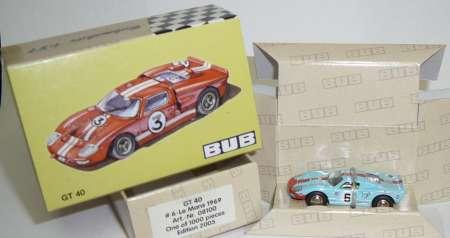 GT 40 -6- Farbe hellblau  (limitierte Auflage 1000 stück)