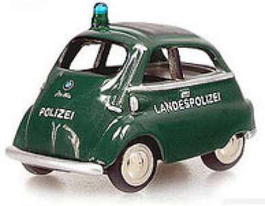 Isetta Export -Polizei- Farbe grün