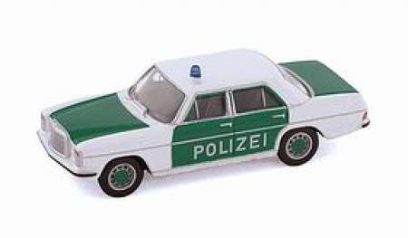 Benz Limousine -Polizei in grün-weiß