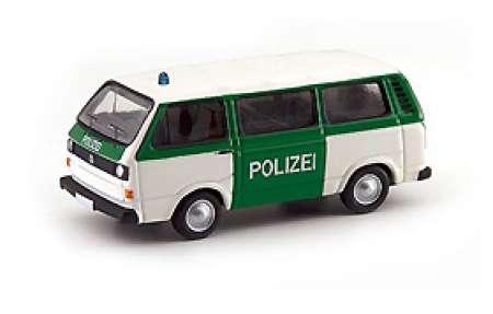 T3 Bus -Polizei- in weiß-grün