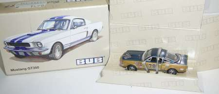 Bubmobil GT350 #78 in gold-blau
