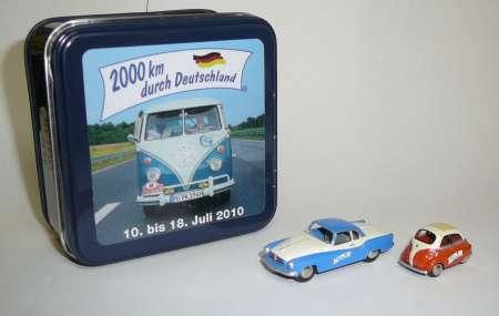 Isabella -Isetta -2000 km durch Deutschland-
