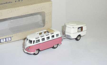 T1 Samba Bus, Eriba Wohnwagen