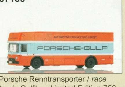 Renntransporter 'Gulf'