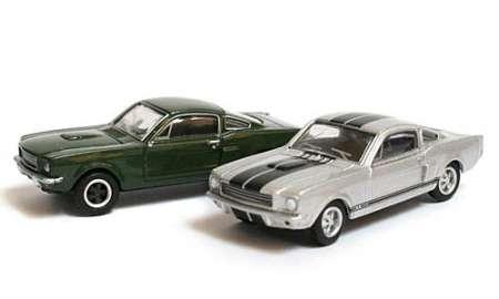 SET '50 Jahre Ford Mustang' (2 mal Mustang)