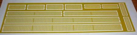 LTM 11200  Etch piece walkways for LTM 11200 Luffing jip Extension  36m  Eisele / Mediaco / Havator