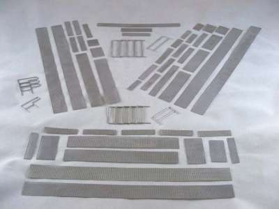 LR1750 Etch piece of walkways and guard rails