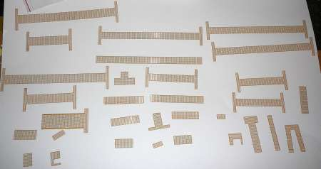 LR 1600/2 Ral 1007   Etch piece of walkways and guard rails