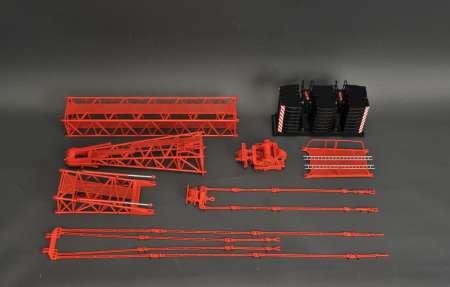 Mast System  für Autokran LTM 1800  für YC770-4