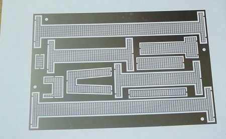 für LR 1600/2 ohne Farbe Etch piece of walkways and guard rails