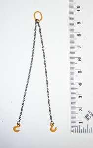 two Chain Slings 8cm Lifting Chain/ 1.5mm