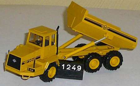 Dumper D 25 in gelb (ohne Karton/without box)