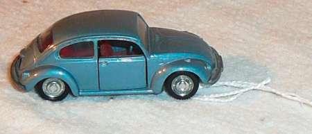 1302 S N° 818 -sehr altes Modell Produktionsbedingte Lackschäden- Schuco Piccolo
