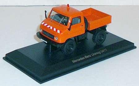 Benz Unimog U-411 1956 in orange