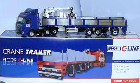 FH 3achs mit 3achs Steinauflieger -Floor Trailers-