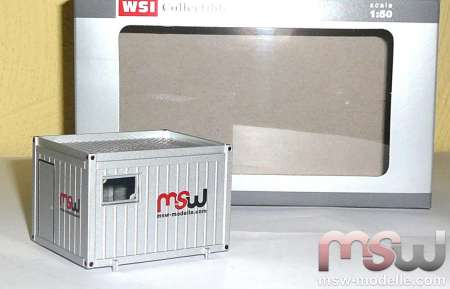 Ballastcontainer 10 FT MSW Modelle