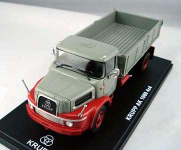 AK 1060 Dreiseitenkipper grau-rot limitiertes Resinmodell