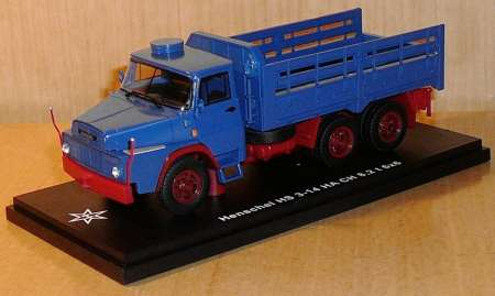 HS 3-14HA CH 6x6 blau Witteler Brilon limitiertes Resinmodell