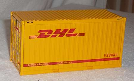 20 Fuß Container in gelb -DHL- 273