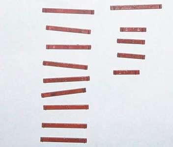 14 Holzstücke für Tieflader 470, 853