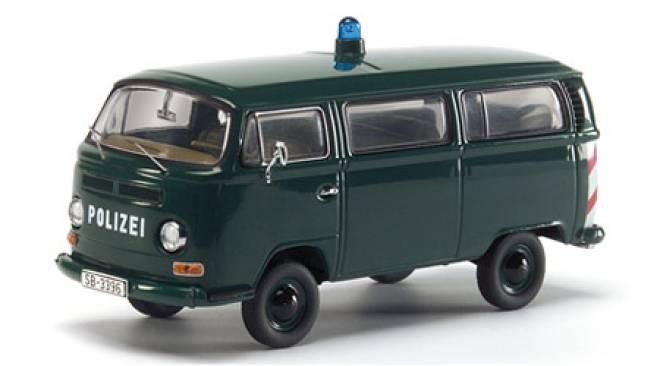 Bus T2a Fensterbus -Polizei-