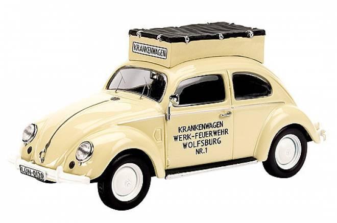 Käfer - krankenwagen- mit Miesen-Aufbau (limited 1000)