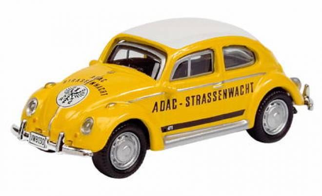 vw beetle 1 87 k fer adac stra enwacht dickie schuco 25215. Black Bedroom Furniture Sets. Home Design Ideas