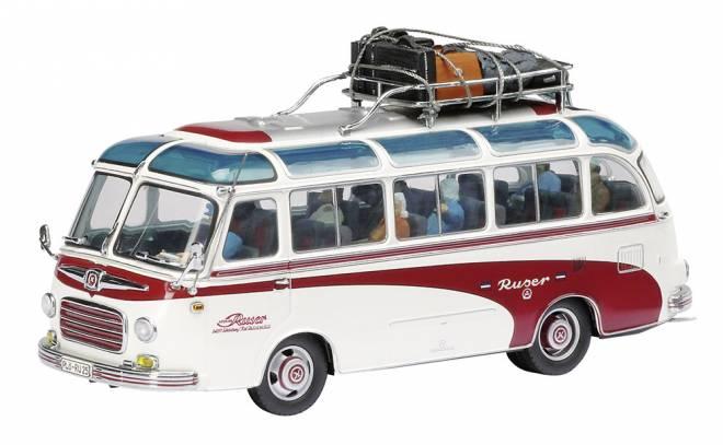 modell dickie schuco setra s6 ruser bus 1 43. Black Bedroom Furniture Sets. Home Design Ideas
