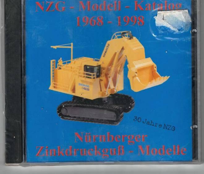 CD ROM NZG-Modellkatalog von 1968 - 1998