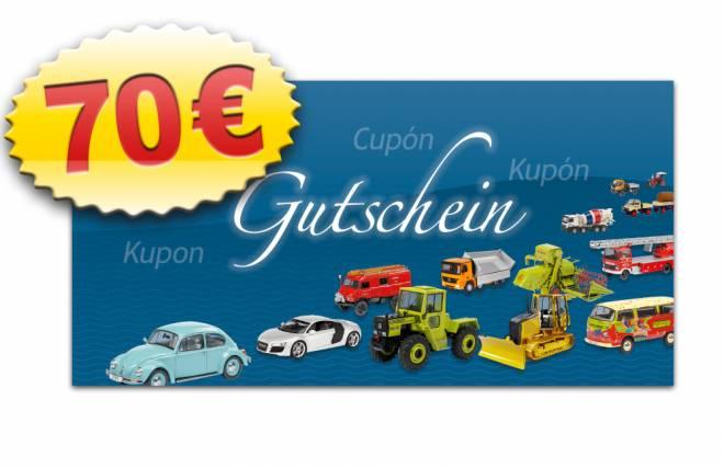 MSW-Gutschein 70 €