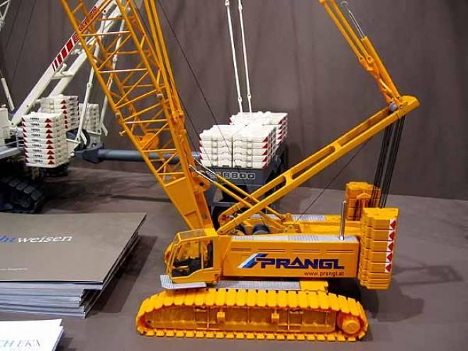 Model Conrad Liebherr Raupenkran Lr 1280 1 Crawler Crane 1 50