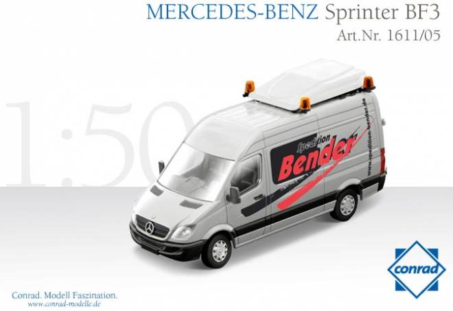mercedes transporter 1 50 sprinter bf3 schwerlastverkehr. Black Bedroom Furniture Sets. Home Design Ideas