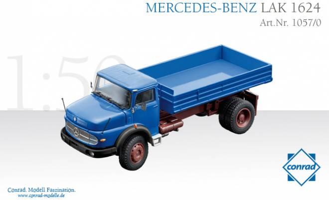 Benz LAK 1624 Rundhauber 2-achs