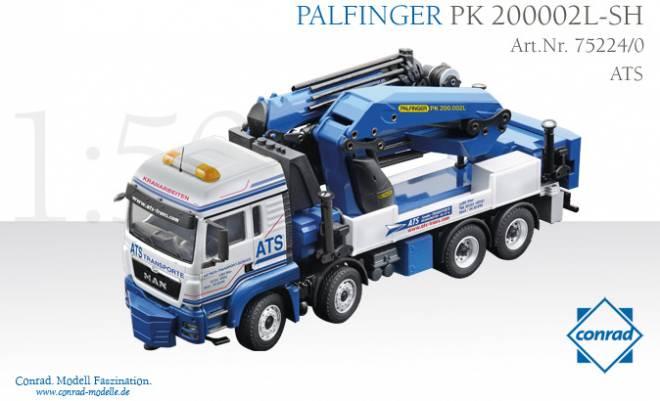 TGS 4-achs mit Palfinger PK200002L-SH