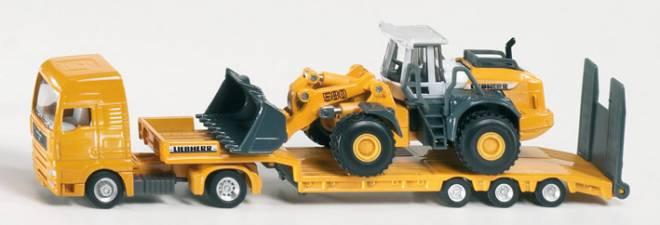 Zugmachine mit Tieflader und -Liebherr- 580