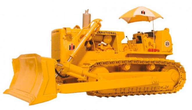 Model First Gear International Td 25 Crawler Dozer