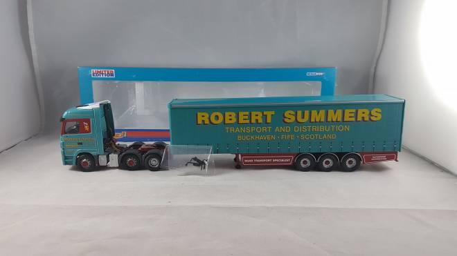 Benz Actros Curtainside -Robert Summers Transport Ltd. (APR)