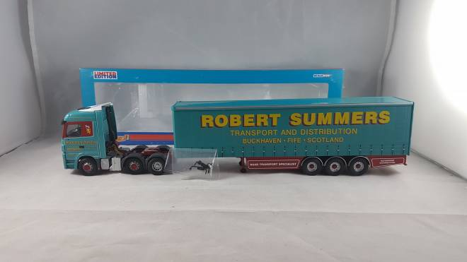 Benz Actros Curtainside -Robert Summers Transport Ltd. (APR)