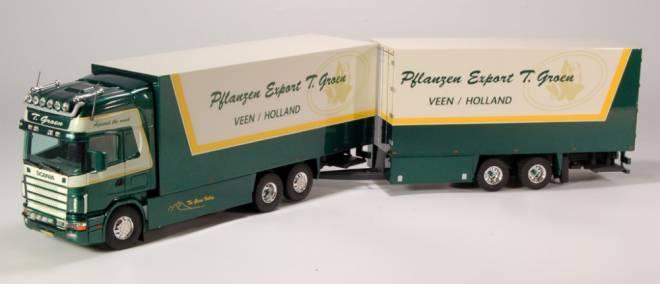 144L 530 Topline Motorwagen mit Mittelachs Anhänger - Teun Groen-