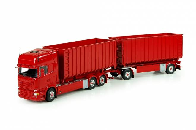 R-Streamline Topline Motorwagen mit Hakenarm Container combi