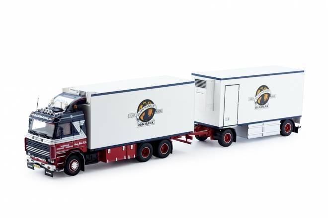 2-serie Koffer LKW  mit 2achs Anhänger