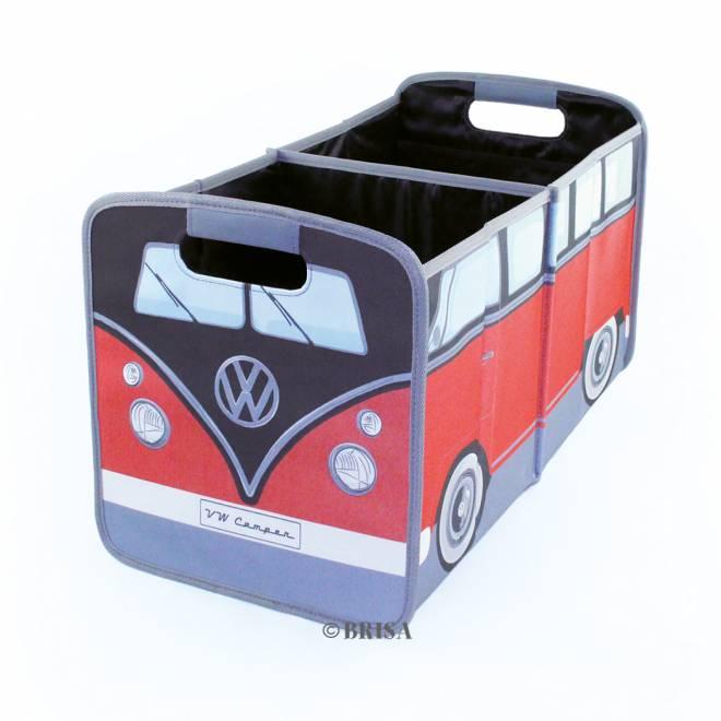 T1 BUS FALTBOX - ROT/SCHWARZ