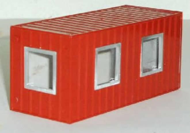 Msw Zubehör Baucontainer Baucontainer Wohncontainer Mit Fenstern