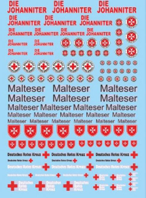 DIE JOHANNITER Rettungs Dienste 3 (90x140 mm)