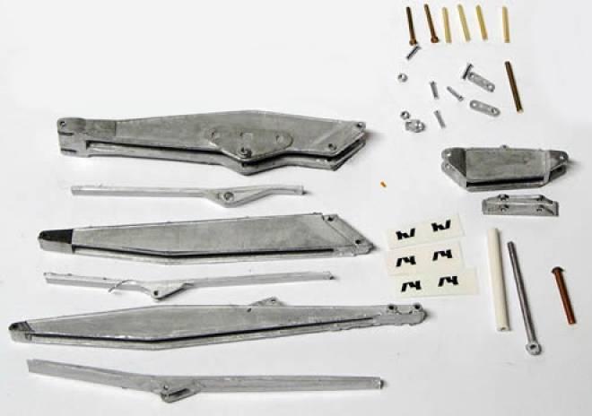 3teilig (zum Anbau an CAT 375, 365, 5080, Akerman 620/650) (Bausatz/Kit besteht aus 31 teilen)